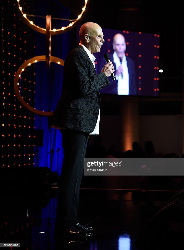 Chairman of Coty, Inc Peter Harf speaks onstage at the 10th Annual Delete Blood Cancer DKMS Gala at Cipriani Wall Street on May 5, 2016 in New York City.