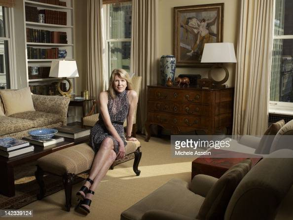 Chairman of Gilt Groupe Susan Lyne is photographed for Fortune Magazine on September 13 in New York City ON WORLDWIDE EMBARGO UNTIL JANUARY 17 2012