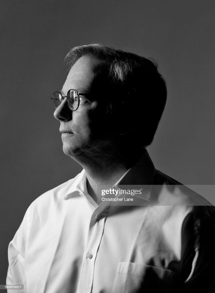 Chairman of Google <a gi-track='captionPersonalityLinkClicked' href=/galleries/search?phrase=Eric+Schmidt&family=editorial&specificpeople=5515021 ng-click='$event.stopPropagation()'>Eric Schmidt</a> is photographed for The Guardian Newspaper on April 5, 2013, in New York City.