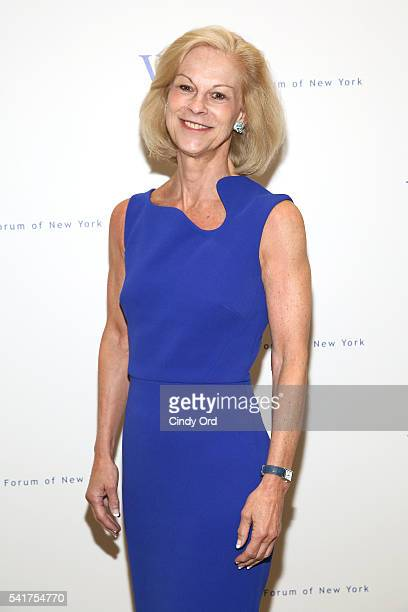 Chairman of Hatch Beauty Christie Hefner attends The 6th Annual Elly Awards at The Plaza Hotel on June 20 2016 in New York City