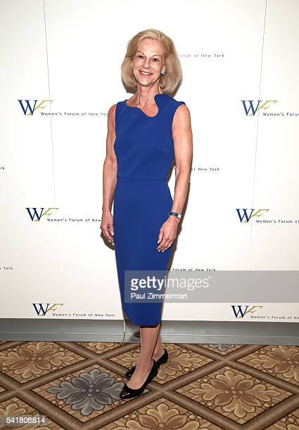 Chairman of Hatch Beauty Christie Hefner attends The 6th Annual Elly Awards Luncheon at The Plaza Hotel on June 20 2016 in New York City