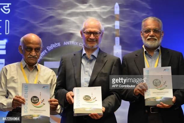LR Chairman of Indian Space Research Organisation AS Kiran Kumar Chairman and Managing Director of Godrej Boyce Jamshyd N Godrej and former ISRO...