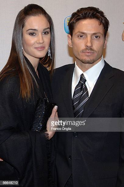 Chairman of Mediaset Piersilvio Berlusconi and his girlfriend Silvia Toffanin attend the TV Sport Cinema And Music Italian Awards at the Auditorium...