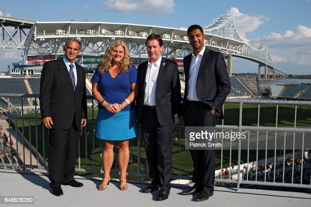 Chairman of Newcastle Falcons Semore Kurdi Executive Director of the Friends of the British Council Erin Sullivan Chief Executive of Premiership Mark...