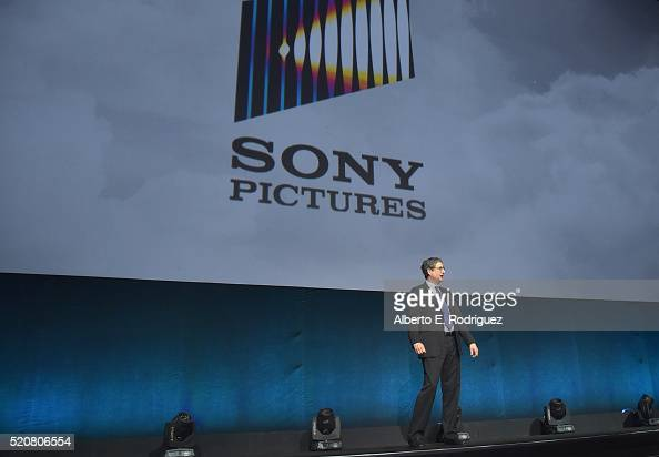 Chairman of Sony Picture Entertainment Motion Pictures Group Tom Rothman speaks onstage during CinemaCon 2016 An Evening with Sony Pictures...