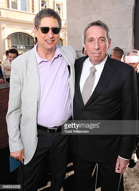 Chairman of Sony Pictures Entertainment's Motion Picture Group Tom Rothman and writer/director Ivan Reitman attend the Premiere of Sony Pictures'...