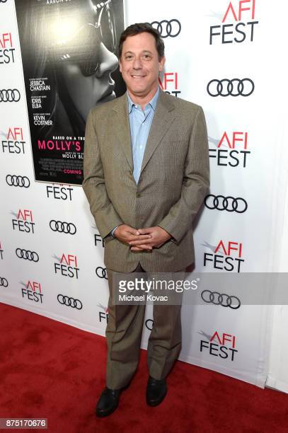 Chairman of STX Films Adam Fogelson attends the screening of 'Molly's Game' at the Closing Night Gala at AFI FEST 2017 Presented By Audi at TCL...