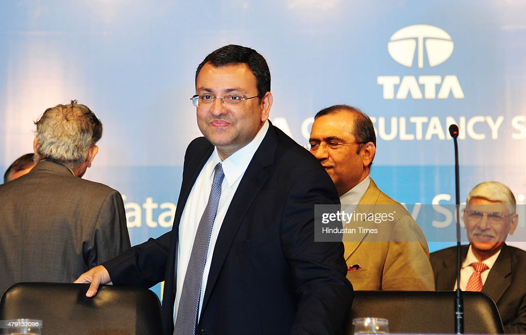 Chairman of Tata Sons, <a gi-track='captionPersonalityLinkClicked' href=/galleries/search?phrase=Cyrus+Mistry&family=editorial&specificpeople=8705051 ng-click='$event.stopPropagation()'>Cyrus Mistry</a> during the AGM of Tata Consultancy Services at Birla Matoshree on June 30, 2015 in Mumbai, India. Country's largest IT services firm TCS said it will hire 60,000 people this fiscal and impart training to its existing one lakh employees in various digital technologies.