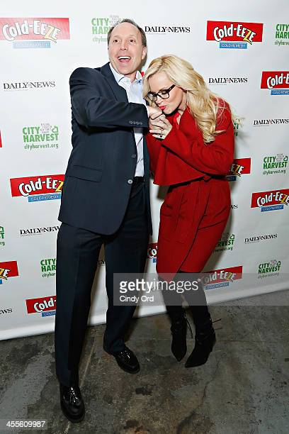 Chairman of the Board and Chief Executive Officer of ProPhase Labs Ted Karkus and TV personality Jenny McCarthy attend the The 2013 Daily News...