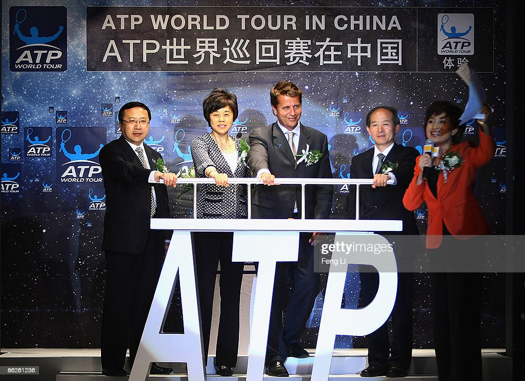 Chairman of the Board of China Open Promotions Limited Zhang Yabin ViceChairman of the China Tennis Association Sun Jinfang CEO of the ATP...