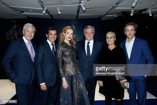 Chairman of the Board of Galeries Lafayette Group Philippe Houze General Director of Galeries Lafayette Nicolas Houze Natalia Vodianova CEO of Dior...