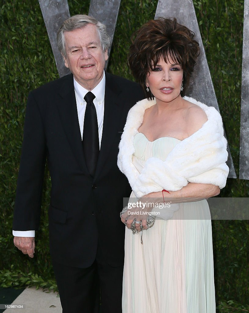 Chairman of the Board Robert A. Daly (L) and wife songwriter Carole Bayer Sager attend the 2013 Vanity Fair Oscar Party at the Sunset Tower Hotel on February 24, 2013 in West Hollywood, California.