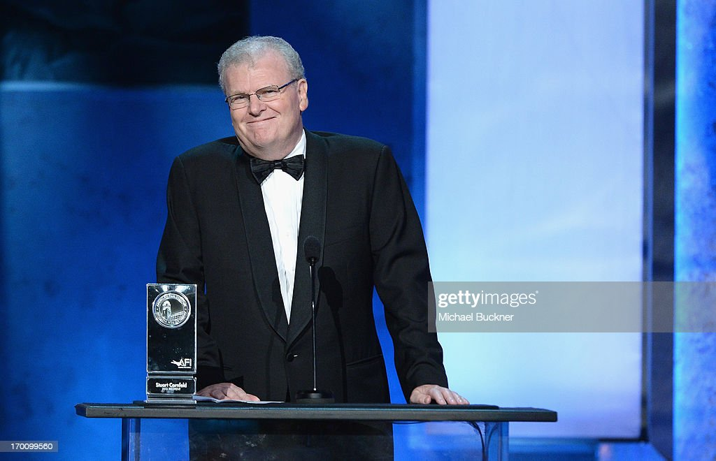 Chairman of the Board, Sony Corporation and AFI Board of Trustees Chair Sir Howard Stringer speaks onstage during AFI's 41st Life Achievement Award Tribute to Mel Brooks at Dolby Theatre on June 6, 2013 in Hollywood, California. 23647_002_MB_1165.JPG
