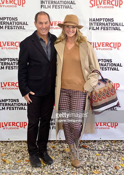 Chairman of the Hamptons International Film Festival Stuart Match Suna and Christie Brinkley attend the Chairmans Reception during the 2014 Hamptons...
