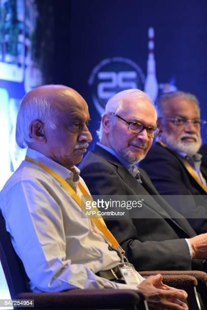 Chairman of the Indian Space Research Organisation AS Kiran Kumar Chairman and Managing Director of Godrej Boyce Jamshyd N Godrej and former ISRO...
