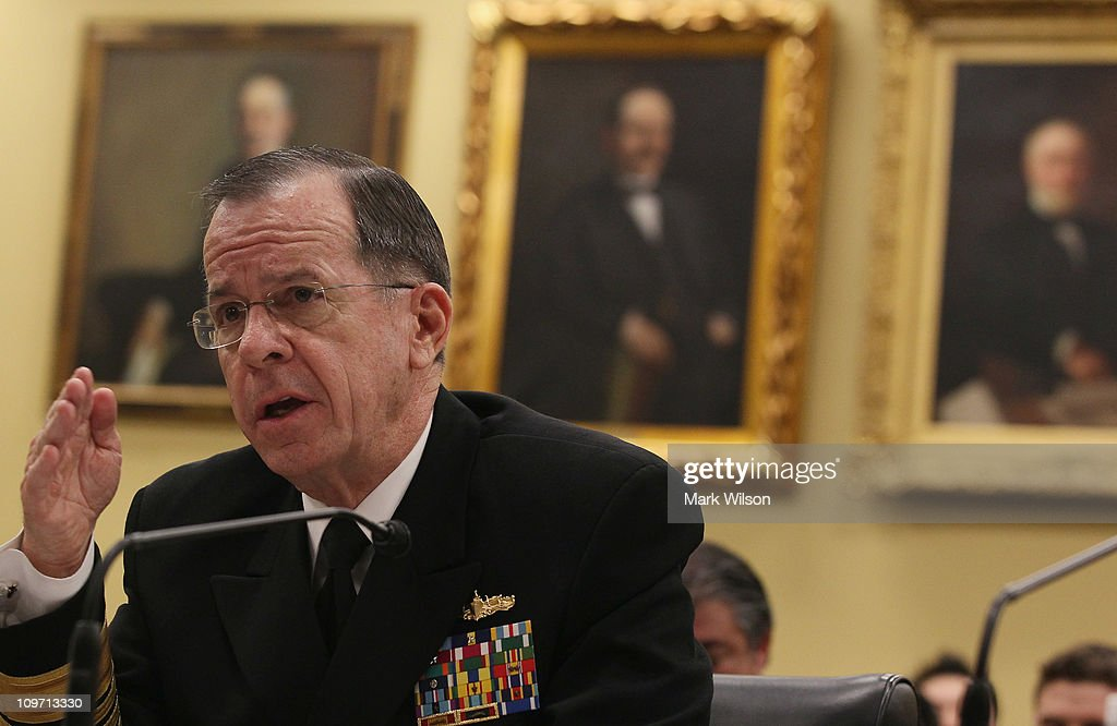 Gates and mullen testify at house hearing on defense for Chair joint chiefs of staff