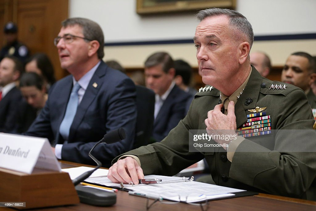 Joseph dunford getty images for Chair joint chiefs of staff