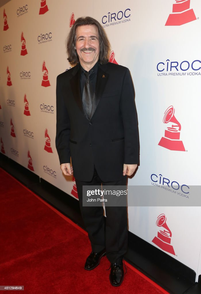 Chairman of the Latin Recording Academy <a gi-track='captionPersonalityLinkClicked' href=/galleries/search?phrase=Luis+Cobos&family=editorial&specificpeople=650002 ng-click='$event.stopPropagation()'>Luis Cobos</a> attends The 14th Annual Latin GRAMMY Awards after party at the Mandalay Bay Events Center on November 21, 2013 in Las Vegas, Nevada.