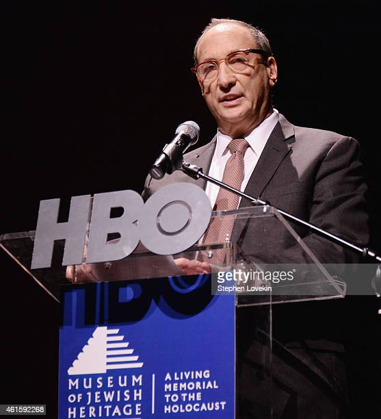 Chairman of The Museum of Jewish Heritage Bruce Ratner attends the New York premiere of the HBO documentary film 'Night Will Fall' at The Museum of...