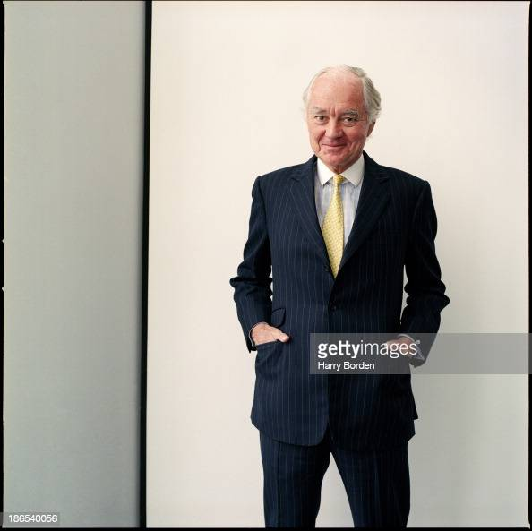 Chairman of the Swiss mining company Xstrata and previously retired chairman of HSBC bank Sir John Bond is photographed for Business Week Magazine in...
