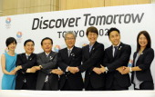 Chairman of the Tokyo 2020 Bid Committee and Tokyo Metropolitan Governor Naoki Inose Tokyo 2020 president and Japan Olympic Committee president...