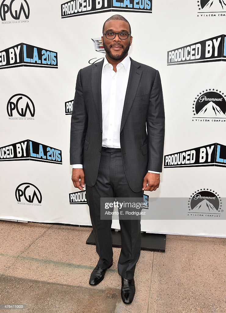 Chairman of The Tyler Perry Company Tyler Perry attends the 7th Annual Produced By Conference at Paramount Studios on May 31 2015 in Hollywood...