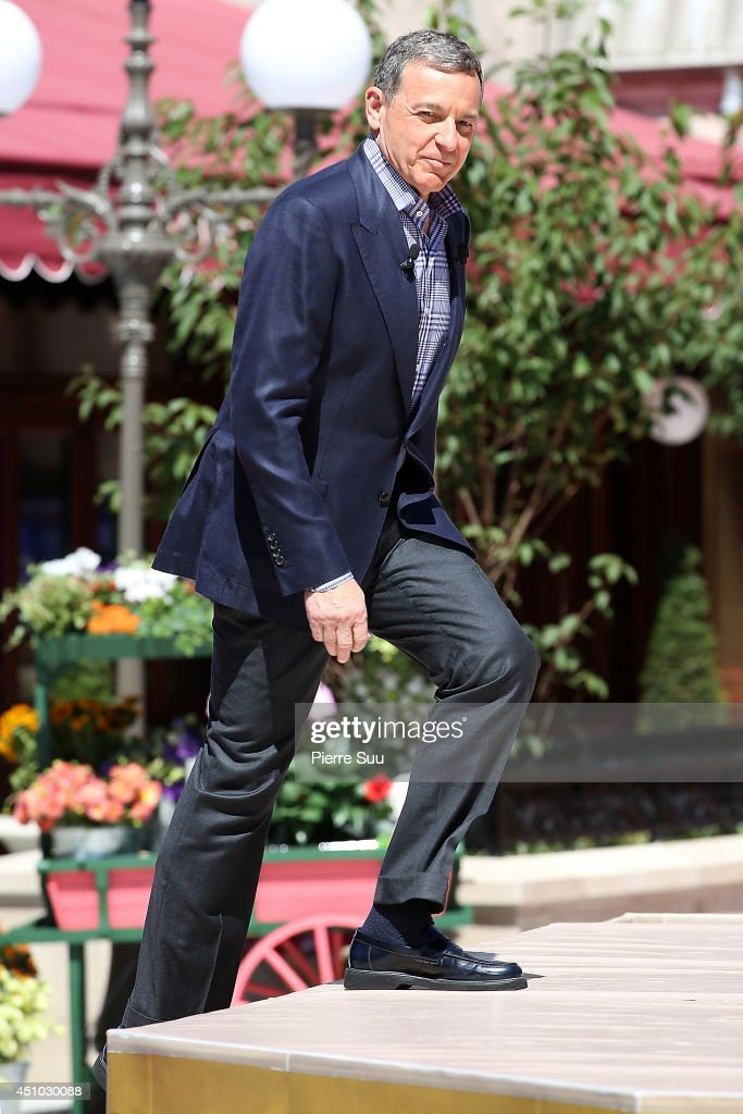 Chairman of the Walt Disney Company Robert A Iger attends the launch of 'RatatouilleThe Adventure' at Disneyland Resort Paris on June 21 2014 in...