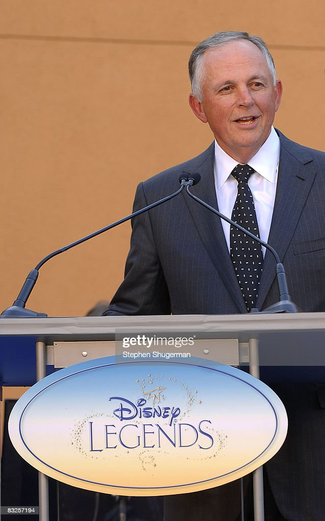 Chairman of The Walt Disney Studios Dick Cook speaks at the 2008 Disney Legends Ceremony at the Walt Disney Studios on October 13, 2008 in Burbank, California.