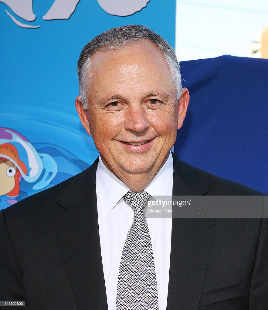 Chairman of The Walt Disney Studios, <a gi-track='captionPersonalityLinkClicked' href=/galleries/search?phrase=Richard+Cook&family=editorial&specificpeople=241506 ng-click='$event.stopPropagation()'>Richard Cook</a> arrives to the special screening of 'Ponyo' held at the El Capitan Theatre on July 27, 2009 in Hollywood, California.