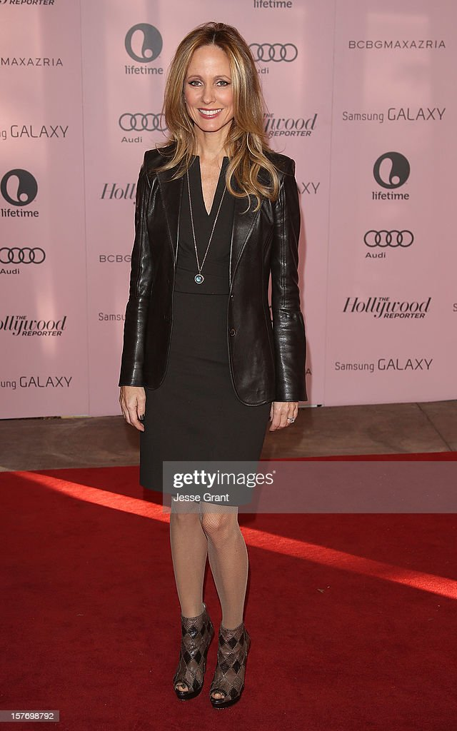 Chairman of Twentieth Century Fox Television Dana Walden arrives at the Hollywood Reporter's 21st annual women in entertainment breakfast at The Beverly Hills Hotel on December 5, 2012 in Beverly Hills, California.