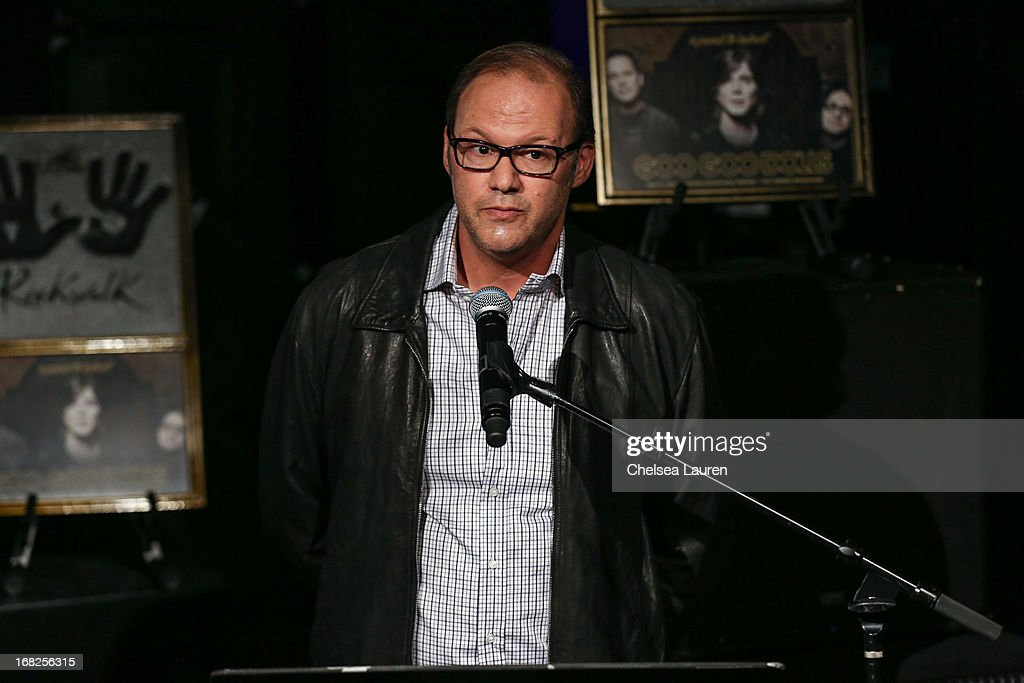Chairman of Warner Bros. Records Rob Cavallo attends the Goo Goo Dolls induction into Guitar Center's historic RockWalk at Guitar Center on May 7, 2013 in Hollywood, California.