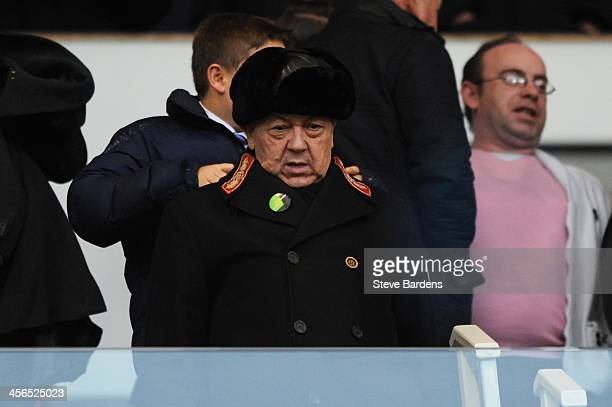 Chairman of West Ham United David Sullivan looks on during the Barclays Premier League match between West Ham United and Sunderland at Boleyn Ground...