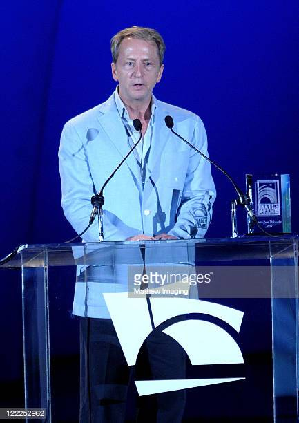 Chairman LA Philharmonic Association David Bohnett on stage during the Hollywood Bowl Opening Night Gala held at the Hollywood Bowl on June 18 2009...