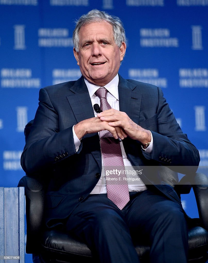 Chairman, President and CEO, CBS Corp. Leslie Moonves speaks onstage at the 2016 Milken Institute Global Conference on May 04, 2016 in Beverly Hills, California.