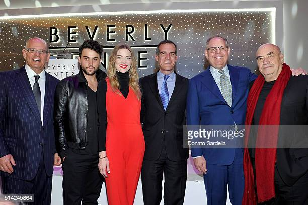 Chairman President and CEO of Taubman Centers Robert Taubman actors Jack Falahee and Jaime King Mayor of Los Angeles Eric Garcetti COO of Taubman...