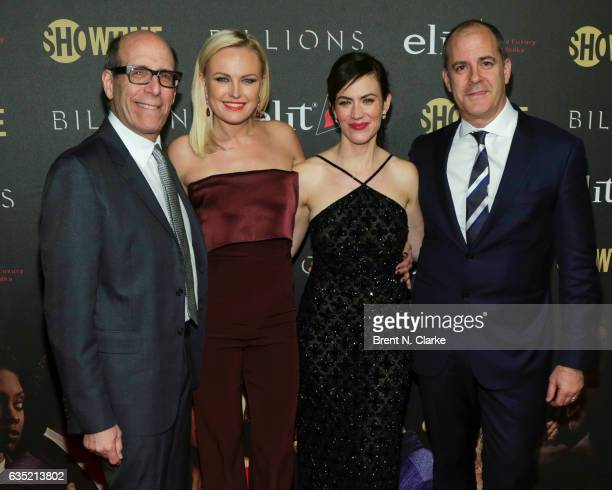 Chairman Showtime Networks Matthew C Blank Actresses Malin Akerman Maggie Siff and Showtime Networks President and CEO David Nevins attend Showtime's...