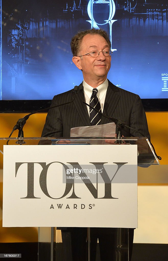 Chairman, The American Theatre Wing William Ivey Long during the 2013 Tony Awards Nominations Ceremony at The New York Public Library for Performing Arts on April 30, 2013 in New York City.