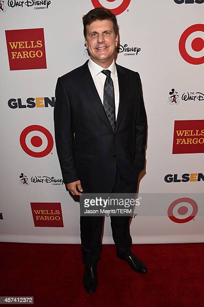 Chairman/CEO and CoFounder of RealD Michael Lewis attends the 10th annual GLSEN Respect Awards at the Regent Beverly Wilshire Hotel on October 17...