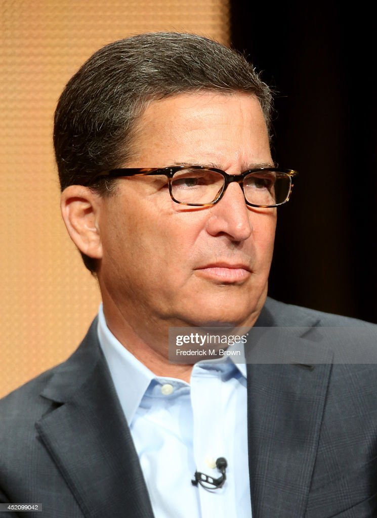 Chairman/CEO, Television Academy, Bruce Rosenblum speaks onstage at the 'The 66th Primetime Emmy Awards' panel during the NBCUniversal portion of the 2014 Summer Television Critics Association at The Beverly Hilton Hotel on July 13, 2014 in Beverly Hills, California.