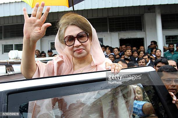 BNP Chairperson Khaleda Zia has arrived at a special court in Bakshibazar to attend the hearings of two trust graft cases against her Print Friendly...