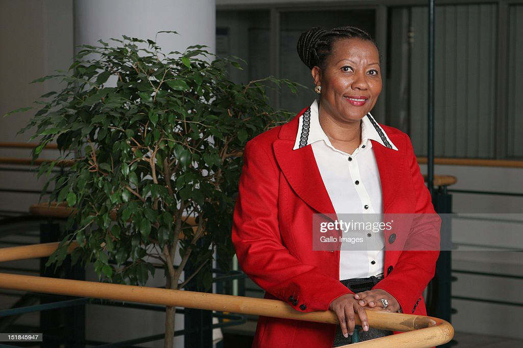 Chairperson of Medscheme, Anna Mokgokong poses on August 1, 2007 in Johannesburg, South Africa.