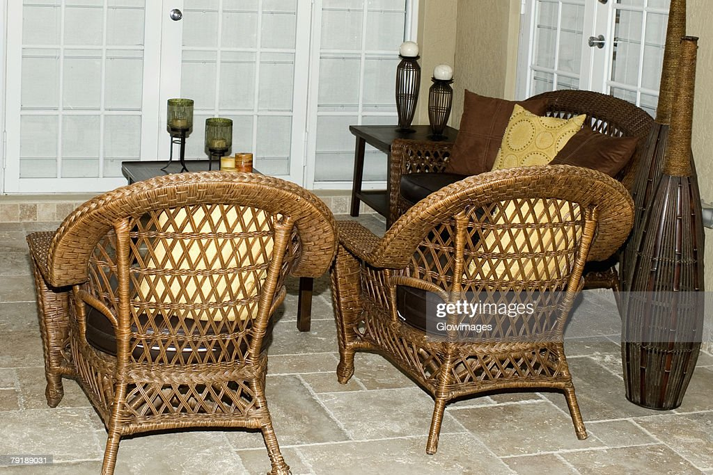 Chairs in a room : Stock Photo