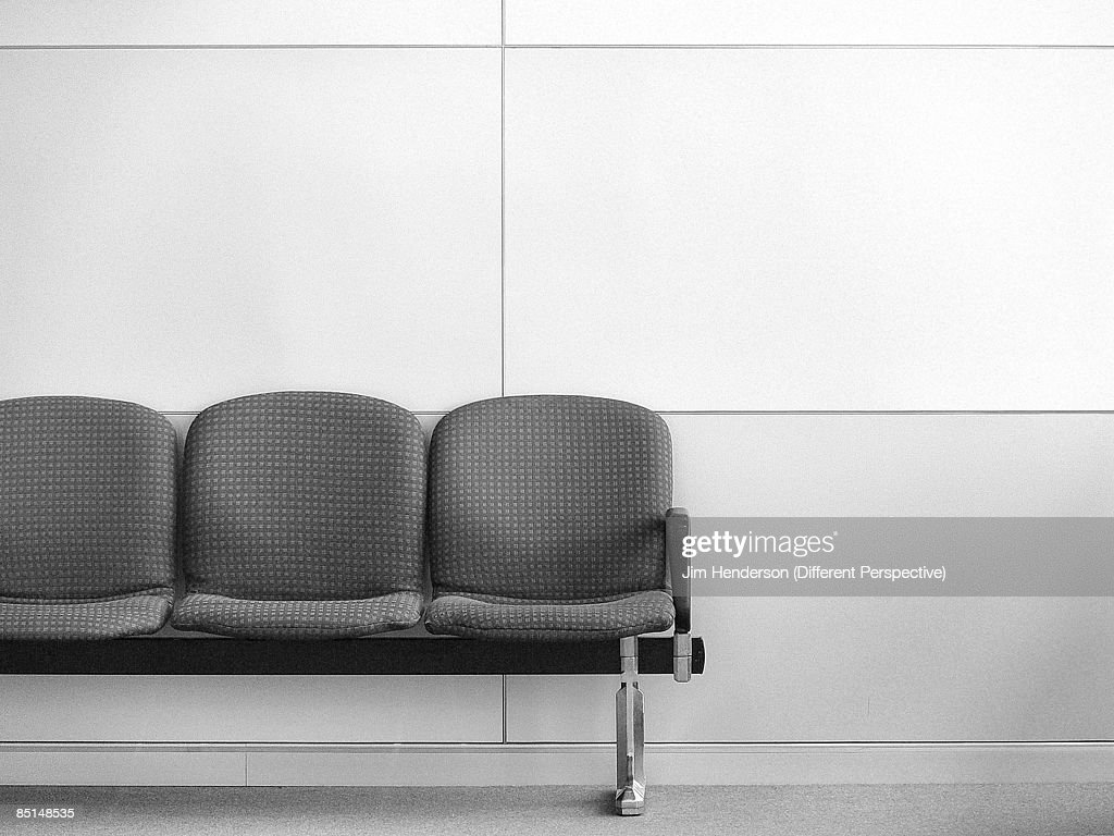 Chairs in airport