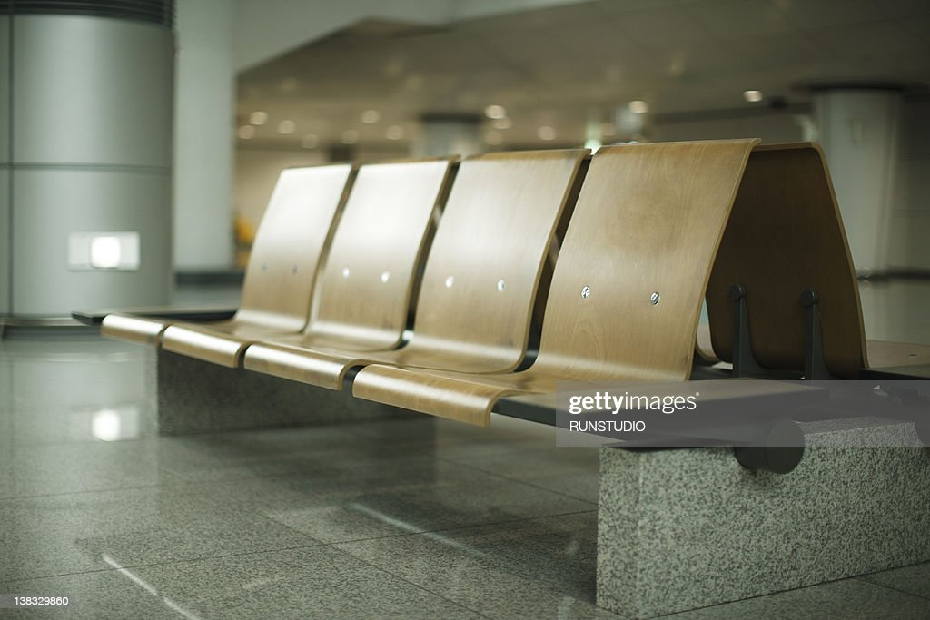 chairs in public building : Stock Photo