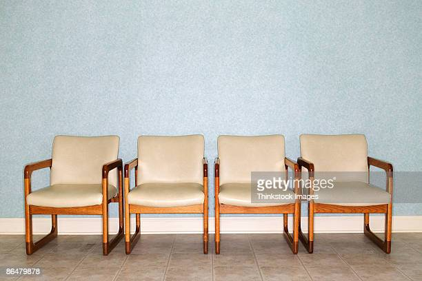 Chairs in waiting room