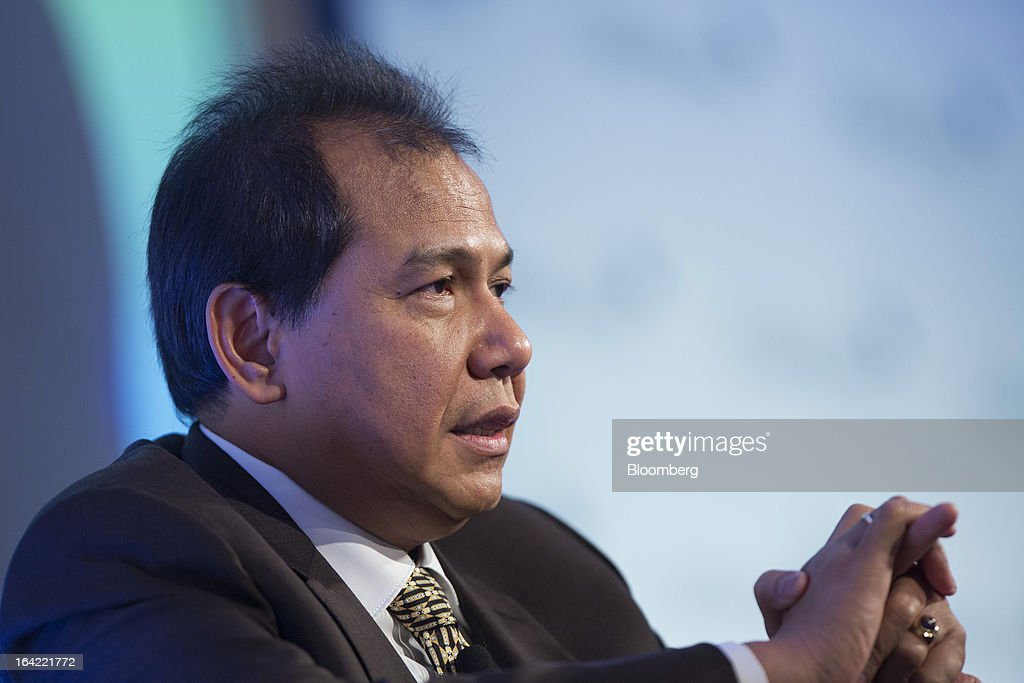 Chairul Tanjung, chairman of Indonesia's National Economic Committee and chairman of CT Corp., speaks during the Credit Suisse Asian Investment Conference in Hong Kong, China, on Thursday, March 21, 2013. The conference runs from March 18-22. Photographer: Jerome Favre/Bloomberg via Getty Images