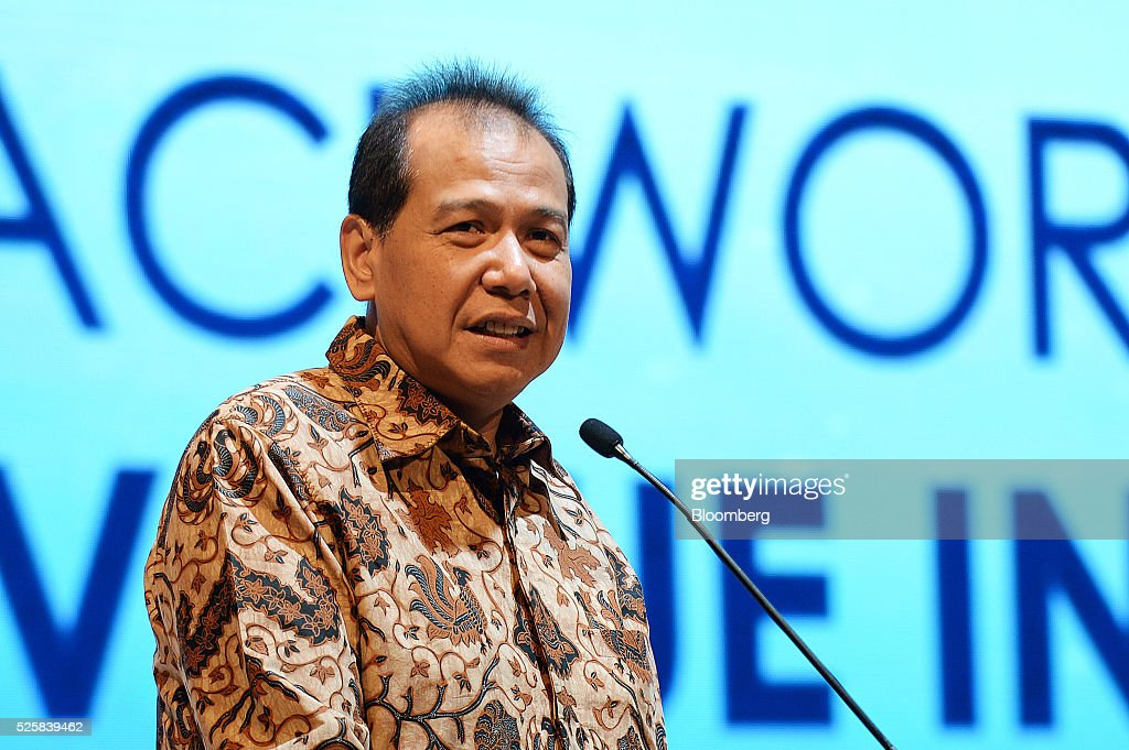 Chairul Tanjung, founder and chairman of CT Corp., speaks during the AIC World Congress conference in Jakarta, Indonesia, on Friday, April 29, 2016. The conference runs through April 30. Photographer: Dimas Ardian/Bloomberg via Getty Images