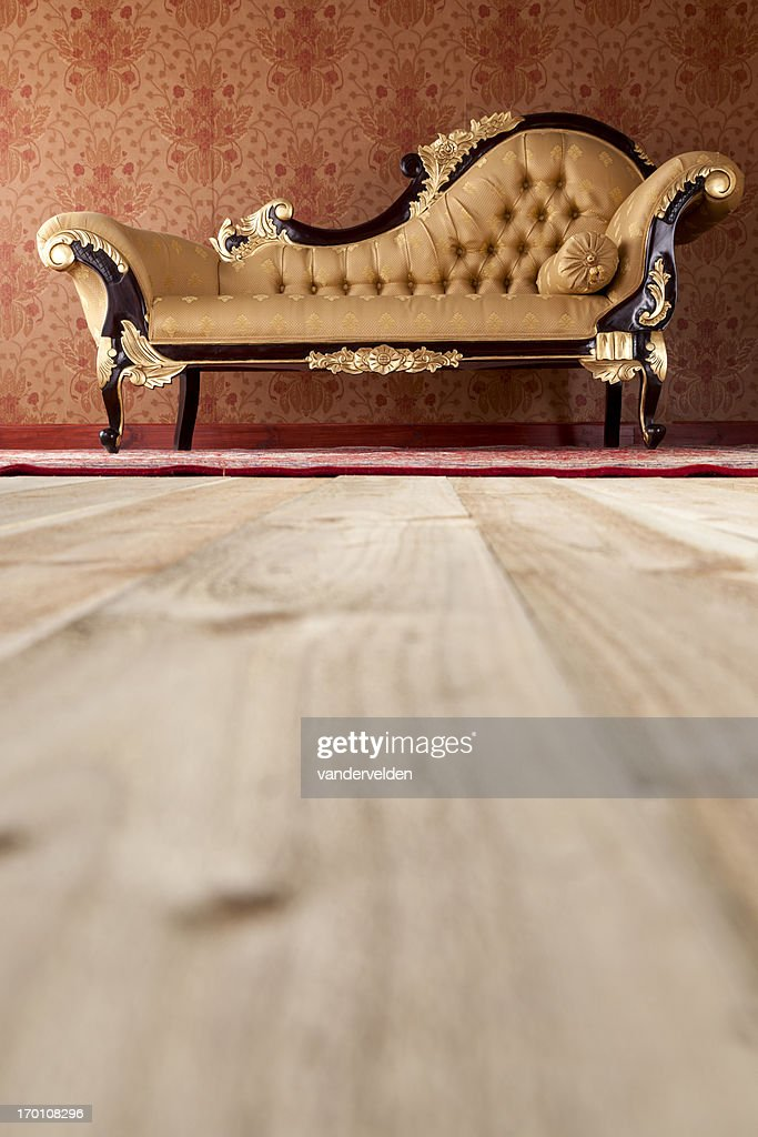 Chaise Longue In The Drawing Room