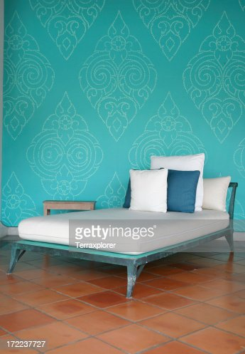 Chaise With Pillows