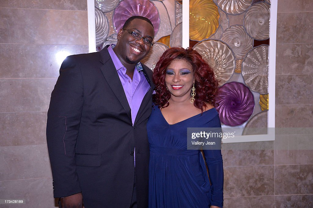 Chaka Khan (R) and DWayne Bennett attend The 9th Annual Success Summit hosted by Dress For Success Worldwide at Epic Hotel on July 13, 2013 in Miami, Florida.